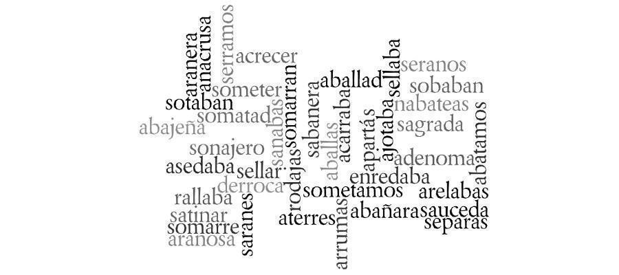 Buscar Palabras Con Letras Buscador De Palabras