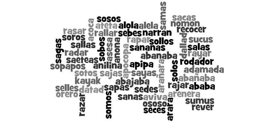 Palíndromos En Español 127 Palabras Que Se Leen Igual Al