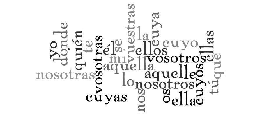 El Pronombre Clases De Pronombres
